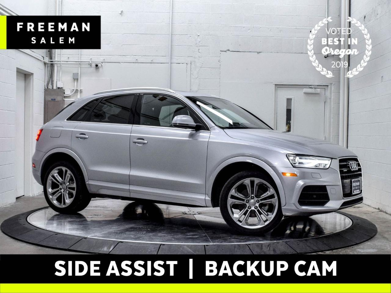 2017 Audi Q3 Premium Plus quattro Side Assist Backup Cam
