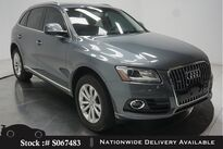 Audi Q5 2.0T Premium NAV,PANO,HTD STS,18IN WLS,HID LIGHTS 2017