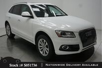 Audi Q5 2.0T Premium PANO,HTD STS,18IN WLS,HID LIGHTS 2017