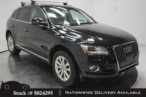 Audi Q5 2.0T Premium PANO,KEY-GO,18IN WLS,HID LIGHTS 2017