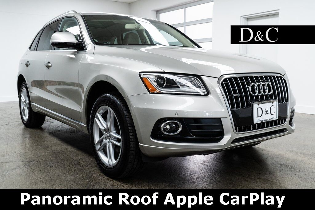 2017 Audi Q5 2.0T Premium quattro Panoramic Roof Heated Seats Portland OR