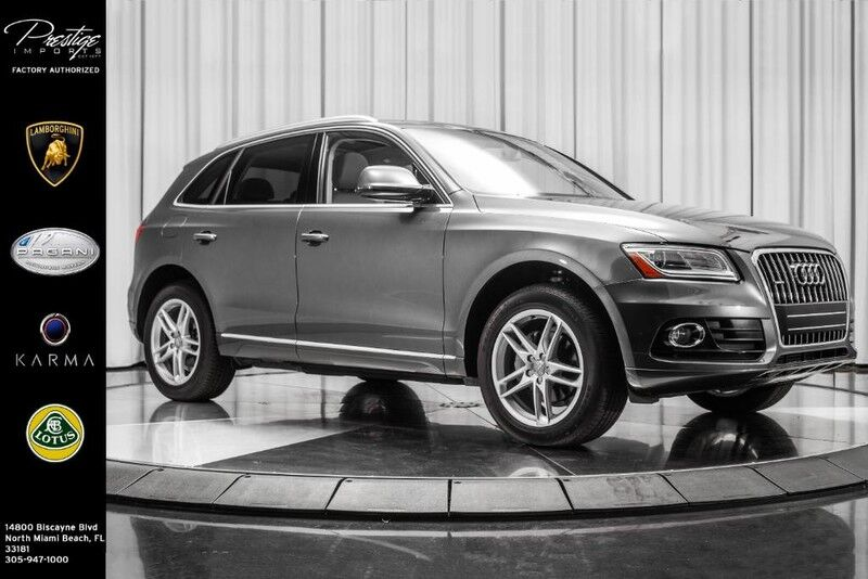2017_Audi_Q5_Premium_ North Miami Beach FL