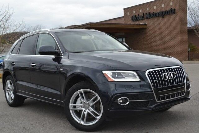 2017 Audi Q5 Premium Plus/1 Owner Local Vehicle/AWD/Blind Spot Monitor/272 HP 3.0t SC/B&O Sound/S-Line Pkg/Nav/Rear View Cam/Heated&Cooled Seats/Panoramic Sunroof/Pwr Liftgate/Sat Radio/Bluetooth Audio Nashville TN