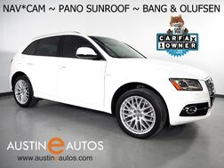 2017_Audi_Q5 Quattro 2.0T Premium Plus_*NAVIGATION, BACKUP-CAMERA, SEASON OF AUDI PKG, SIDE ASSIST, BANG & OLUFSEN, PANORAMA MOONROOF, SPORT SEATS, LEATHER, 20 INCH WHEELS_ Round Rock TX