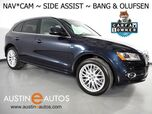 2017 Audi Q5 Quattro 2.0T Premium Plus *NAVIGATION, BACKUP-CAMERA, SEASON OF AUDI PKG, SIDE ASSIST, BANG & OLUFSEN, PANORAMA MOONROOF, SPORT SEATS, LEATHER, 20 INCH WHEELS