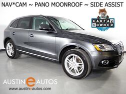 2017_Audi_Q5 Quattro 2.0T Premium Plus_*NAVIGATION, SIDE ASSIST, BACKUP-CAMERA, PANORAMA MOONROOF, LEATHER, HEATED SEATS, BANG & OLUFSEN, BLUETOOTH PHONE & AUDIO_ Round Rock TX