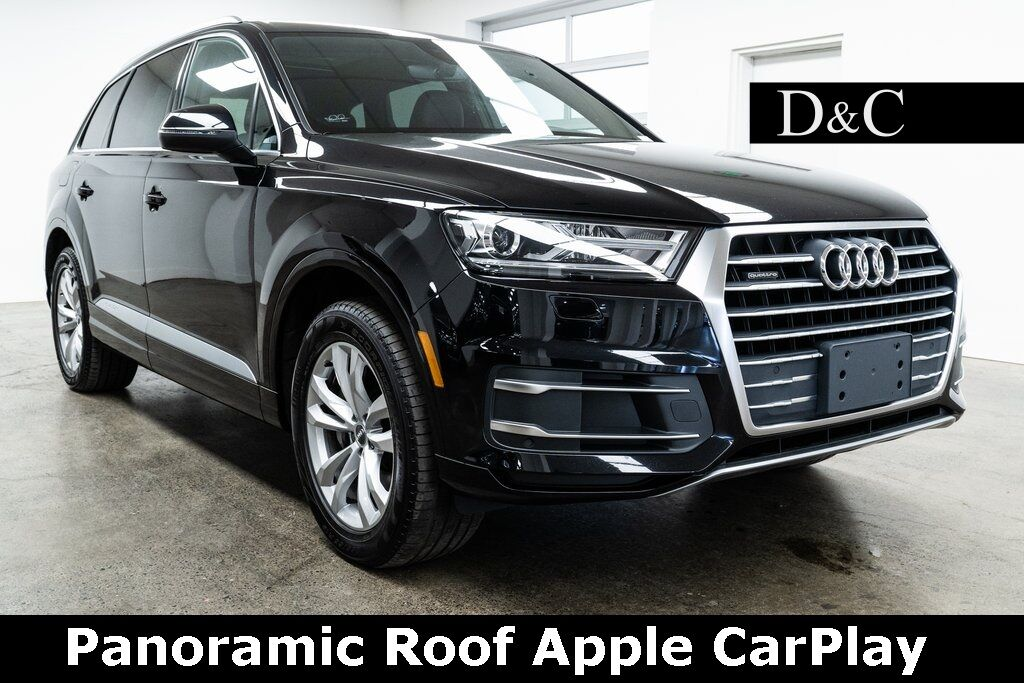 2017 Audi Q7 2.0T Premium quattro Panoramic Roof Apple CarPlay Portland OR