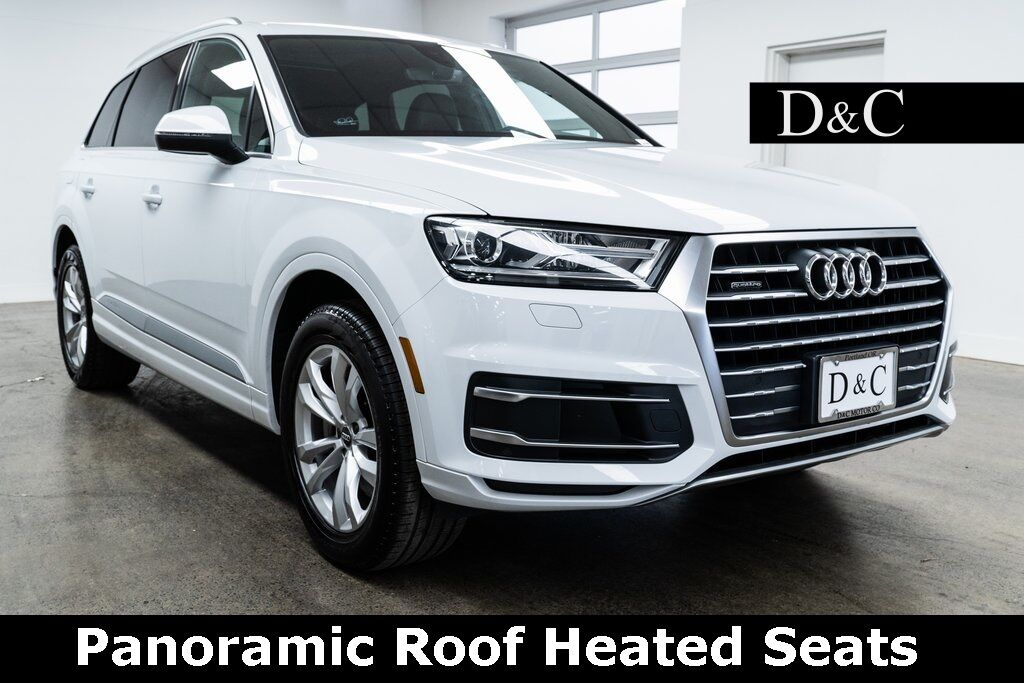 2017 Audi Q7 2.0T Premium quattro Panoramic Roof Heated Seats Portland OR