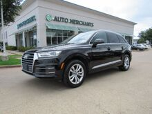 2017_Audi_Q7_3.0 Premium quattro 3rd Row Seat Back-Up Camera Bluetooth Connection Climate Control Fog Lamps_ Plano TX