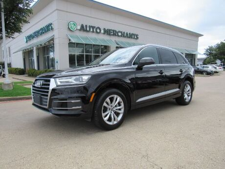 2017 Audi Q7 3.0 Premium quattro 3rd Row Seat Back-Up Camera Bluetooth Connection Climate Control Fog Lamps Plano TX