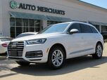 2017 Audi Q7 3.0 Premium quattro MSRP $60,065, LEATHER, 3RD ROW STS, BACKUP CAMERA, KEYLESS START, HTD FRONT STS