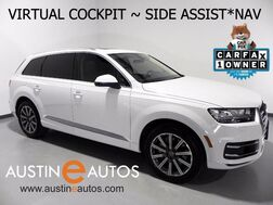 2017_Audi_Q7 3.0T Quattro Premium Plus_*NAVIGATION, VIRTUAL COCKPIT, REAR/TOP CAMERAS, SIDE ASSIST, PANO SUNROOF, 20in WHEELS_ Round Rock TX