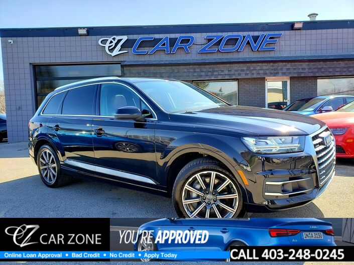 2017 Audi Q7 3.0T Technik Fully Equipped Calgary AB