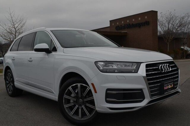 2017 Audi Q7 Premium Plus/AWD/3.0 SC/Blind Spot Monitor/Nav/360 Cameras/Heated&Cooled Seats/Heated Steering Wheel/Bose Sound/3rd Row Seating/Rear Air/20'' Wheels/Satellite Radio Nashville TN