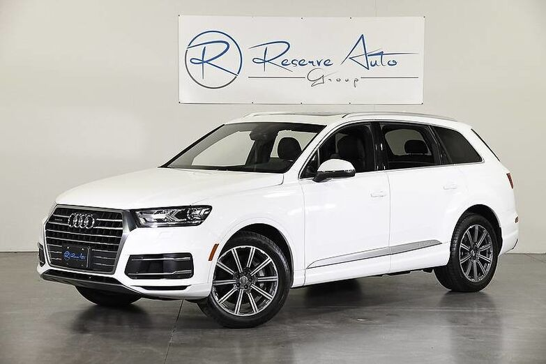 2017 Audi Q7 Premium Plus Brand New Tires BlindSpot Assist BackUp Cam The Colony TX
