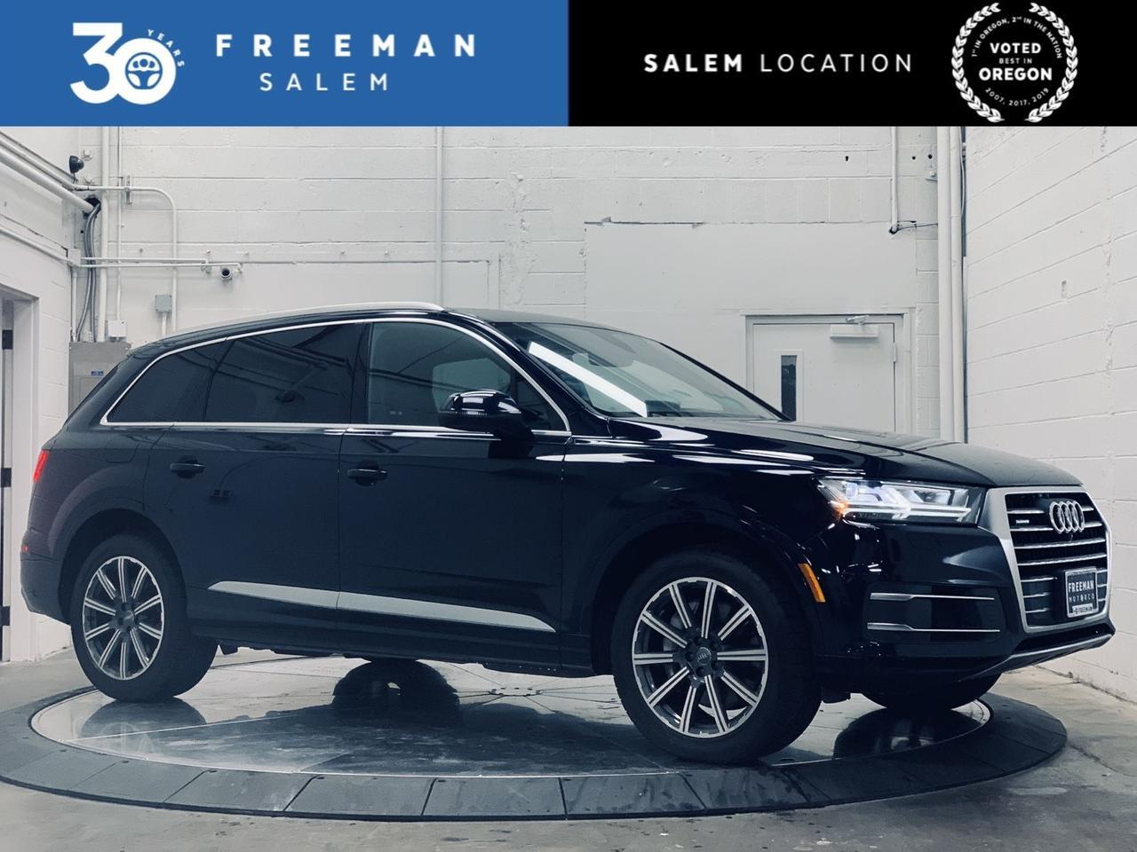 2017 Audi Q7 Premium Plus Vision Package Heated/Cooled Seats Salem OR