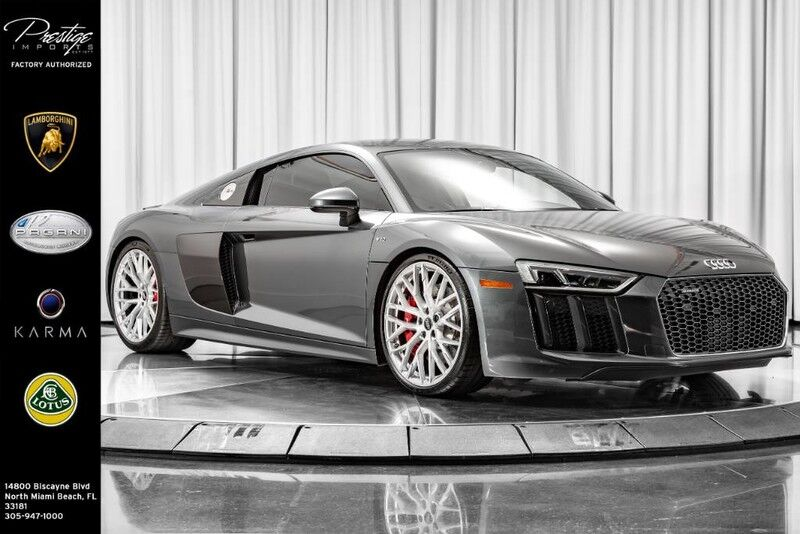2017_Audi_R8 Coupe_V10_ North Miami Beach FL