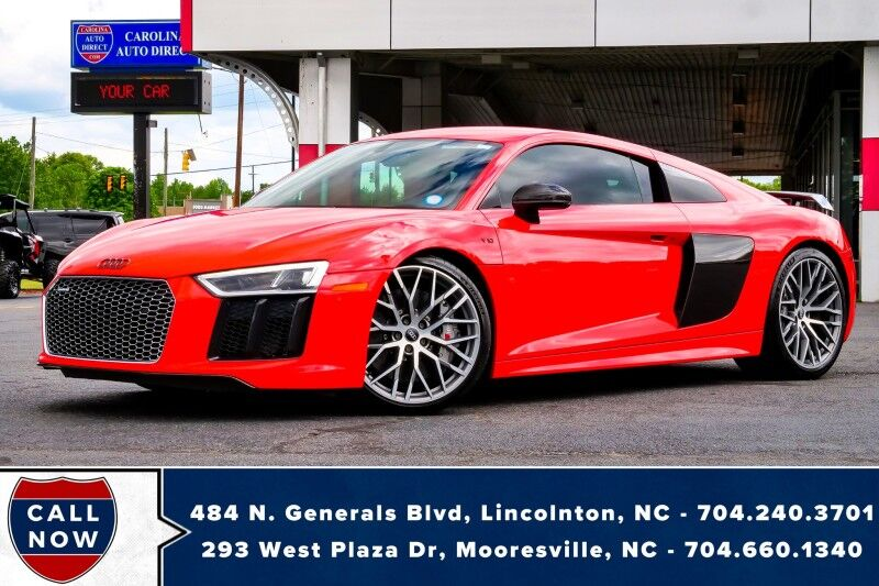 2017 Audi R8 Coupe V10 Plus Quattro AWD w/ Heated Seats & NAV