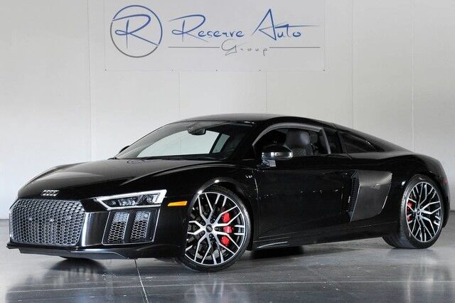 2017 Audi R8 Coupe V10 Quattro S-Tronic Carbon Fiber Dynamic Steering The Colony TX