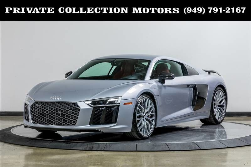 2017 Audi R8 Coupe V10 plus $202,825 MSRP 1 Owner Clean Carfax Costa Mesa CA