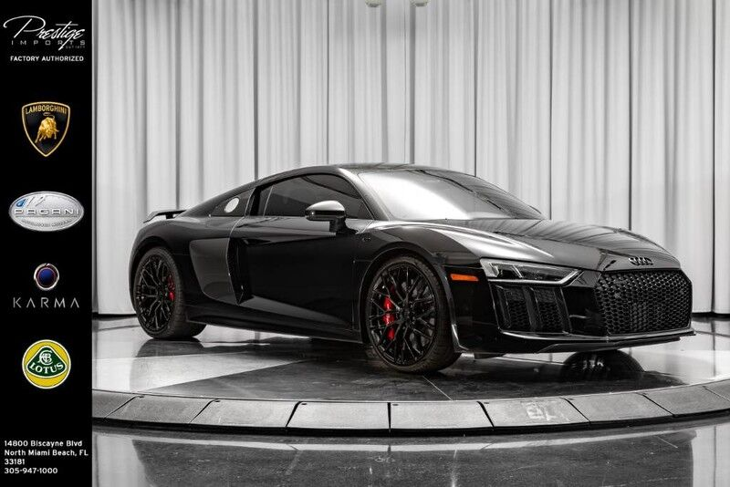 2017_Audi_R8 Coupe_V10 plus_ North Miami Beach FL