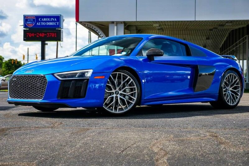 2017 Audi R8 Coupe V10 plus quattro S tronic AWD **LOW MILES** w/ Dynamic Steering & Heated Seats Mooresville NC