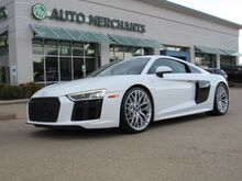 2017_Audi_R8_V10 quattro 7A NAVIGATION, REAR SPOILER, BACKUP CAMERA, HTD FRONT STS, UNDER FACTORY WARRANTY_ Plano TX