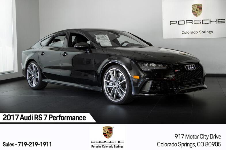 2017 Audi RS 7 Performance Colorado Springs CO