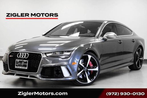 2017 Audi RS 7 Prestige One Owner Clean Carfax 10Kmi Immaculate! Addison TX