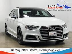 2017_Audi_S3_2.0T PRESTIGE QUATTRO NAVIGATION BANG & OLUFSEN AUDI SIDE ASSIST_ Carrollton TX