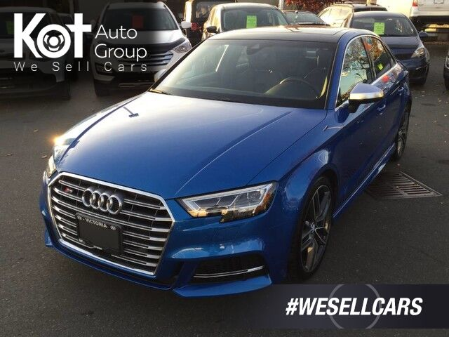 2017 Audi S3 2.0T Technik Quattro One Owner! No Accidents Victoria BC