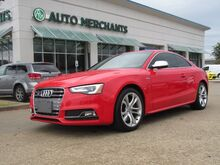 2017_Audi_S5_Quattro Coupe 7A  Sun/Moonroof, Leather,  Navigation System, Bluetooth Connection, Climate Control_ Plano TX
