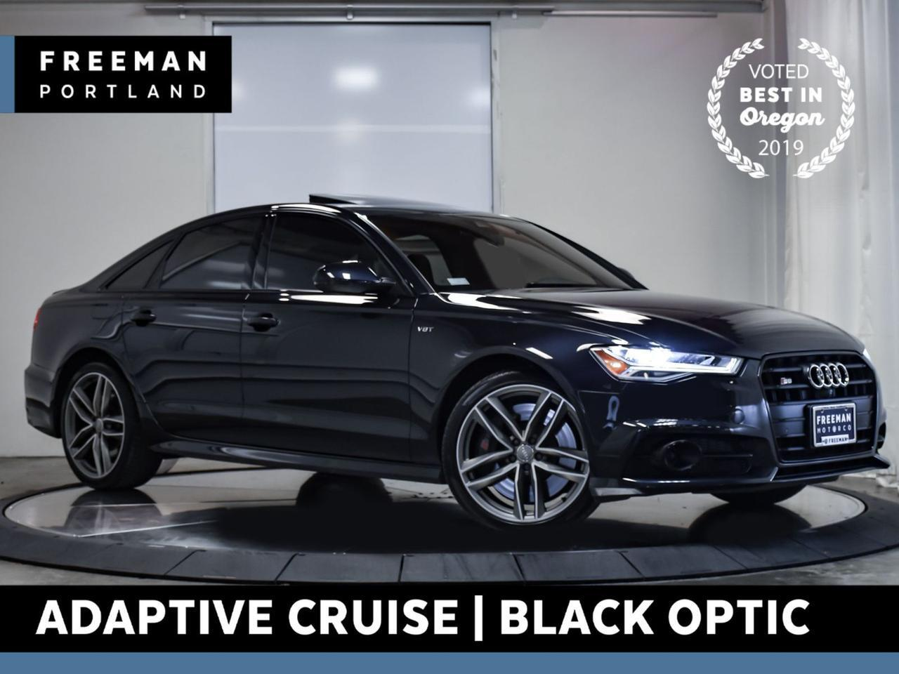 2017 Audi S6 Premium Plus quattro Adaptive Cruise Black Optic Portland OR