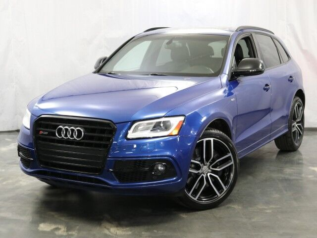 2017 Audi SQ5 Premium Plus / 3.0 6-Cyl 354hp Engine / Quattro AWD / Navigation / Panoramic Sunroof / Push Start / Side Assist / Bang & Olufsen Sound System / Bluetooth Addison IL