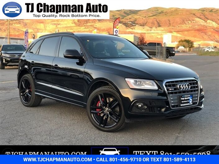 2017 Audi SQ5 Prestige Salt Lake City UT