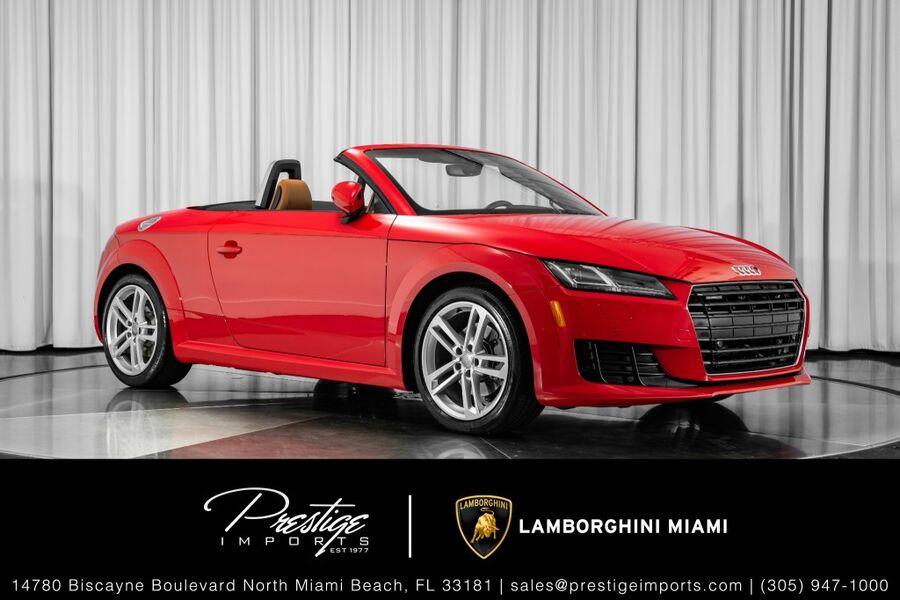 2017_Audi_TT Roadster_2.0 TFSi_ North Miami FL