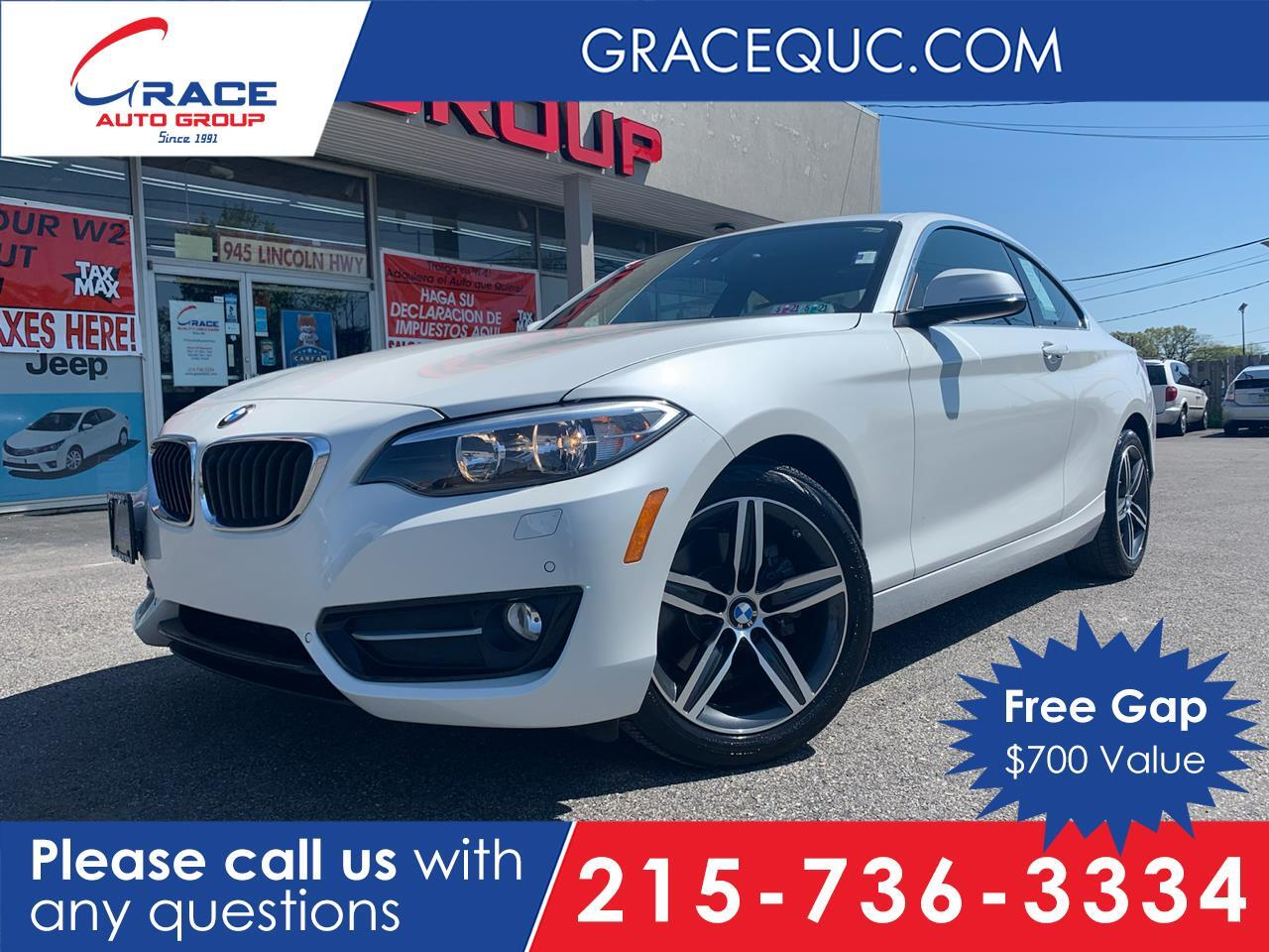 2017 BMW 2-Series 230i Coupe Morrisville PA