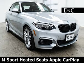 2017 BMW 2 Series 230i M Sport Heated Seats Apple CarPlay