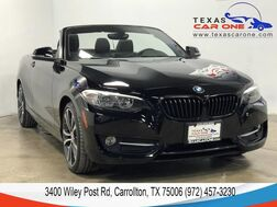2017_BMW_230i Convertible_DRIVER ASSIST PKG LEATHER HEATED SEATS BLUETOOTH KEYLESS START_ Carrollton TX