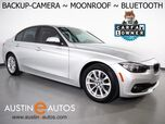 2017 BMW 3 Series 320i Sedan *BACKUP-CAMERA, PARK DISTANCE CONTROL, MOONROOF, COMFORT ACCESS, STEERING WHEEL CONTROLS, ALLOY WHEELS, SATELLITE RADIO, BLUETOOTH PHONE & AUDIO