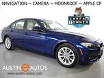 2017 BMW 3 Series 320i Sedan *NAVIGATION, BACKUP-CAMERA, MOONROOF, PARK DISTANCE CONTROL, HEATED SEATS, COMFORT ACCESS, WIRELESS CHARGING, APPLE CARPLAY