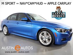 2017_BMW_3 Series 330e iPerformance_*M SPORT PKG, NAVIGATION, HEADS-UP DISPLAY, BACKUP-CAMERA, LEATHER, MOONROOF, HEATED SEATS/STEERING WHEEL, COMFORT ACCESS, APPLE CARPLAY_ Round Rock TX