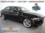 2017 BMW 3 Series 330e iPerformance Plug-In Hybrid *SPORT LINE, HEADS-UP DISPLAY, NAVIGATION, BACKUP-CAMERA, LEATHER, HEATED SEATS, MOONROOF, HARMAN/KARDON, COMFORT ACCESS