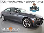 2017 BMW 3 Series 330e iPerformance Plug-In Hybrid *SPORT LINE, HEADS-UP DISPLAY, NAVIGATION, BACKUP-CAMERA, MOONROOF, HEATED SEATS, COMFORT ACCESS, 18 INCH WHEELS, BLUETOOTH, APPLE CARPLAY