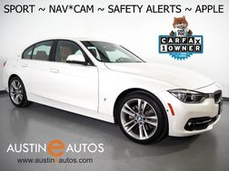 2017_BMW_3 Series 330e iPerformance Plug-In Hybrid_*SPORT LINE, NAVIGATION, BLIND SPOT ALERT, DRIVING ASSISTANT, ADAPTIVE CRUISE, SIDE/TOP/REAR CAMERAS, LEATHER, HEATED SEATS, MOONROOF, APPLE CARPLAY_ Round Rock TX