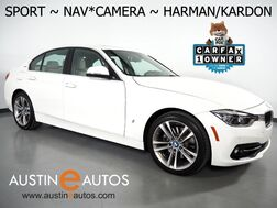 2017_BMW_3 Series 330e iPerformance_*SPORT LINE, NAVIGATION, BACKUP-CAMERA, DAKOTA LEATHER, MOONROOF, HEATED SEATS, HARMAN/KARDON, COMFORT ACCESS, BLUETOOTH_ Round Rock TX