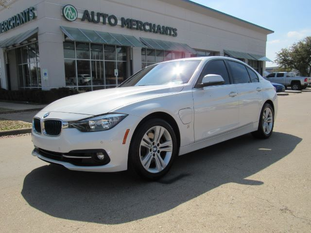 2017 BMW 3-Series 330e iPerformance Sedan *** MSRP $50,720 , Sport Line , Driving Assistance Package*** Back-Up Camera Plano TX