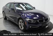 BMW 3 Series 330i SPORT LINE,DRVR ASST,NAV,CAM,SUNROOF,HTD STS 2017