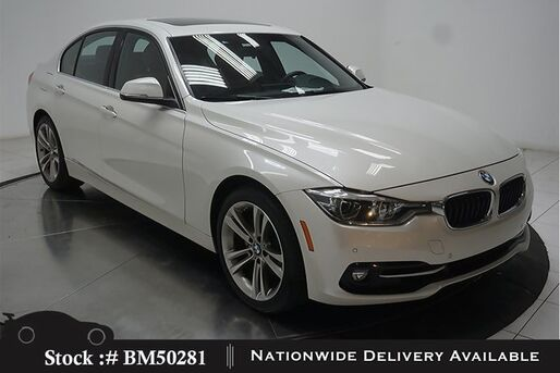 2017_BMW_3 Series_330i SPORT LINE,DRVR AST,NAV,CAM,SUNROF,LED LIGHTS_ Plano TX