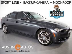 2017_BMW_3 Series 330i Sedan_*SPORT LINE, BACKUP-CAMERA, MOONROOF, HEATED SPORT BUCKET SEATS, PARK DISTANCE CONTROL, 18 INCH WHEELS, BLUETOOTH PHONE & AUDIO_ Round Rock TX